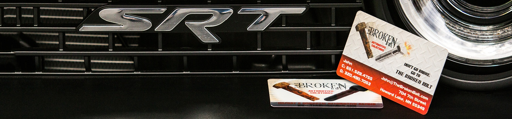 Platinum Automotive Business Card