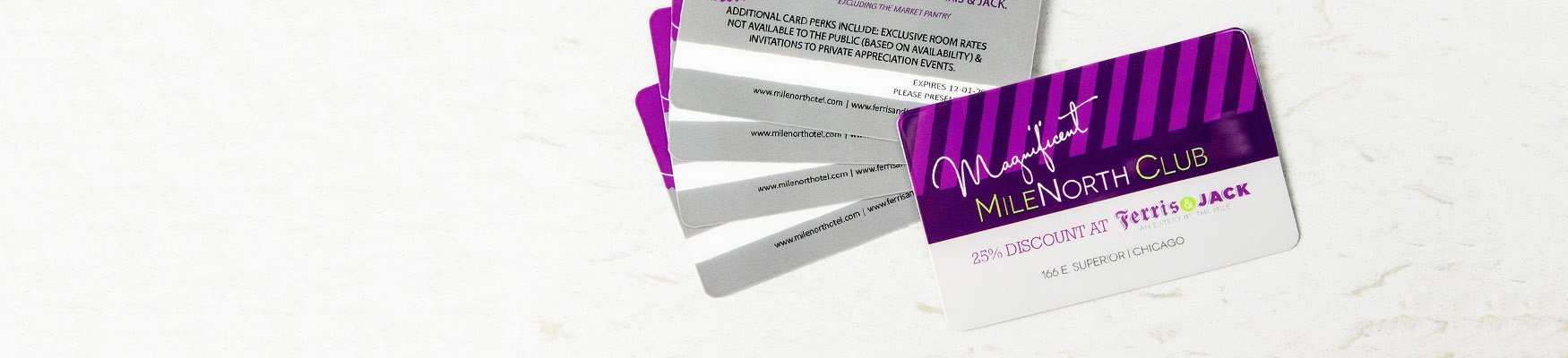 Example of Discount-Cards for Retail Marketing Packages